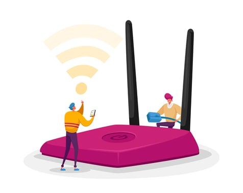 wifi-router-illustration